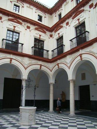 Hotel La Catedral: Внутренний дворик