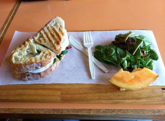 Panini Panini: Chicken Pesto Sandwich