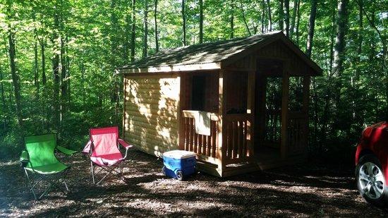 Trillium Woods Campground: Bunkie