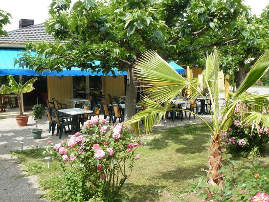 Hotel Restaurant Acotel Confort : Terrasse