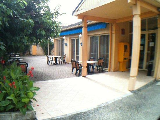 Hotel Restaurant Acotel Confort : Entrée