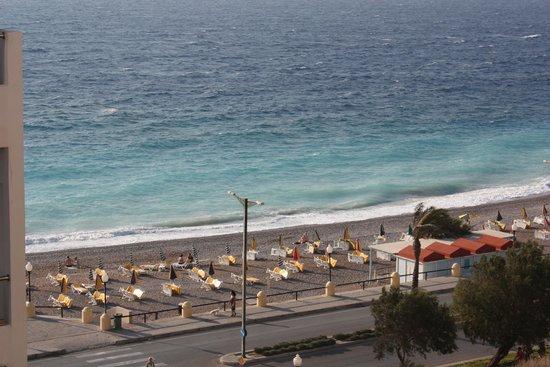 Kipriotis Hotel Rhodes: вид из номера на 4 этаже