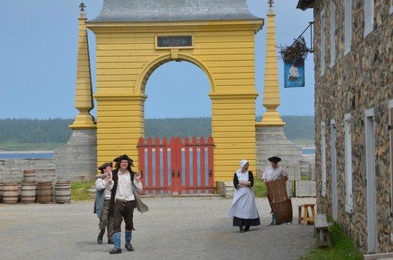 Le site historique national de la Forteresse de Louisbourg : daily life