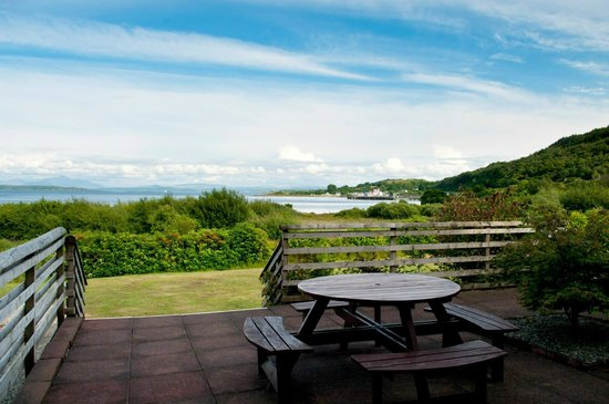 Isle of Mull Hotel & Spa: View from hotel patio