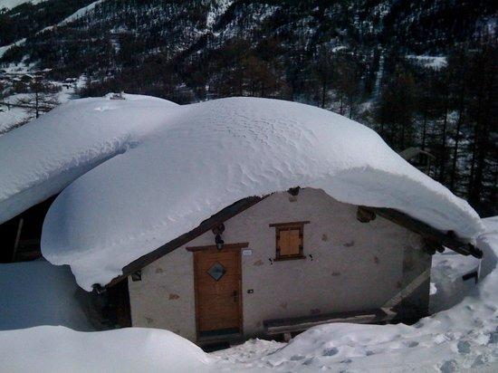 Baita Hanzel & Gretel: La Baita in Inverno