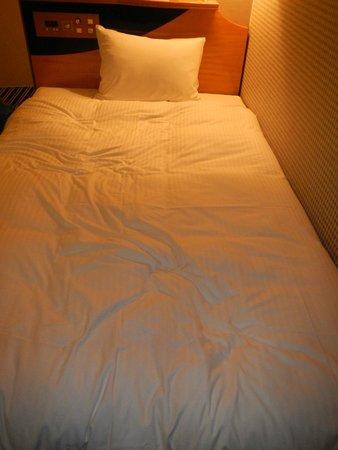 APA Hotel Kyoto Eki Horikawadori: mattress, bed sheet