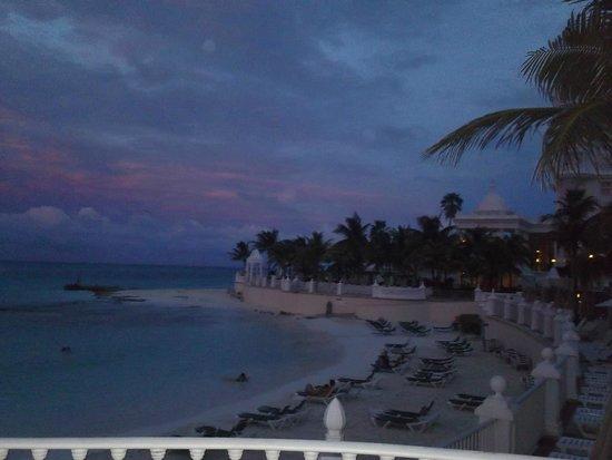 Hotel Riu Palace Las Americas: sunset