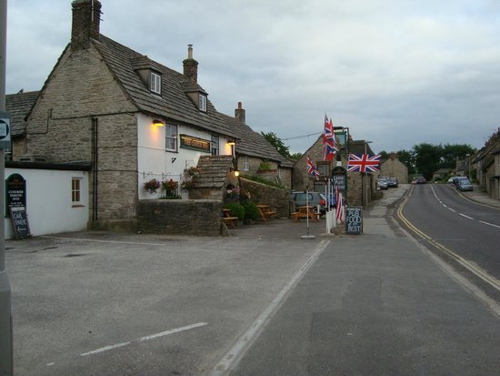 The Castle Inn: Early evening June 2014