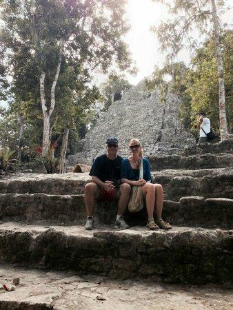 Ruines de Cobá : La Iglesia - Coba