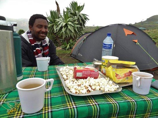 Simien Mountains National Park: Chennek campsite