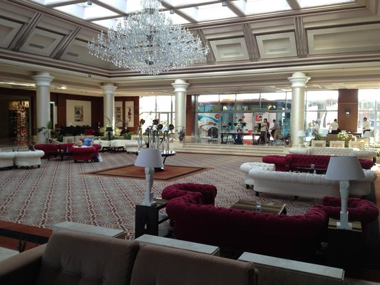 Rixos Sharm El Sheikh: Reception area