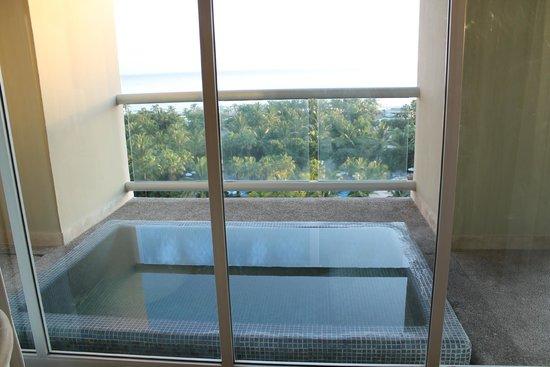 The Grand Mayan Nuevo Vallarta: Our Mini Pool on Balcony