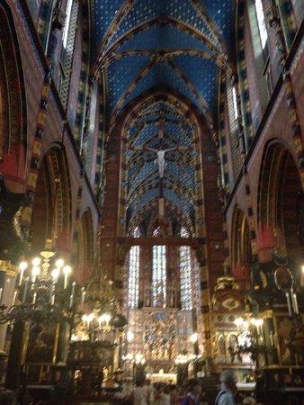 Basilique Sainte-Marie : Entrata