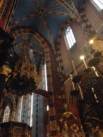 Basilique Sainte-Marie : Interno