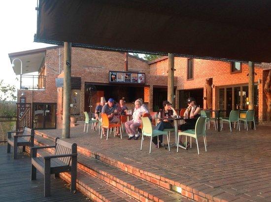 Ngwenya Lodge: Le Fera Restaurant