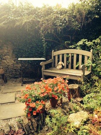 Star Cottage: barn garden
