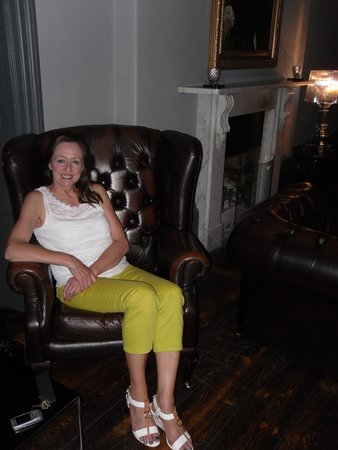 Hammet House: In the drawing room