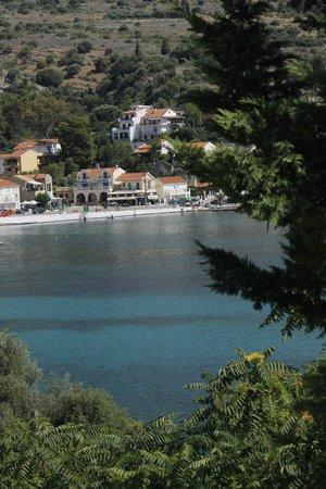 Greka Ionian Suites: Vista dal terrazzo