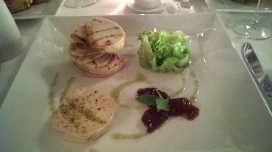 Les Cepages Restaurant: Foie Gras Torchon