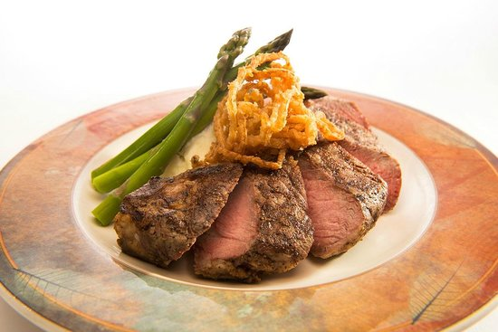 Splashing Rock Restaurant: Delicous steak!