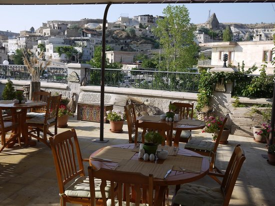 Goreme Inn Hotel: Lovely breakfast venue