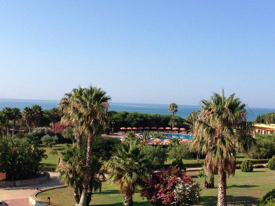 Hotel Conte di Cabrera: VUE DE LA CHAMBRE