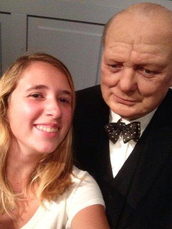 Madame Tussauds Amsterdam: Selfie met Churchil