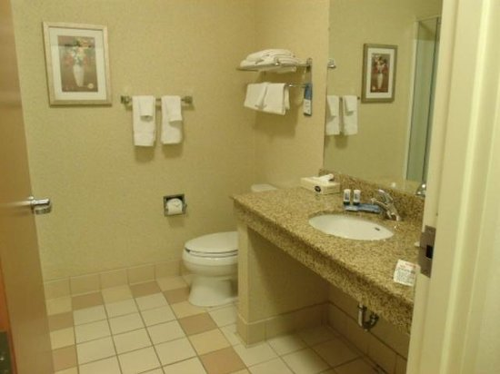Fairfield Inn & Suites State College : Bathroom