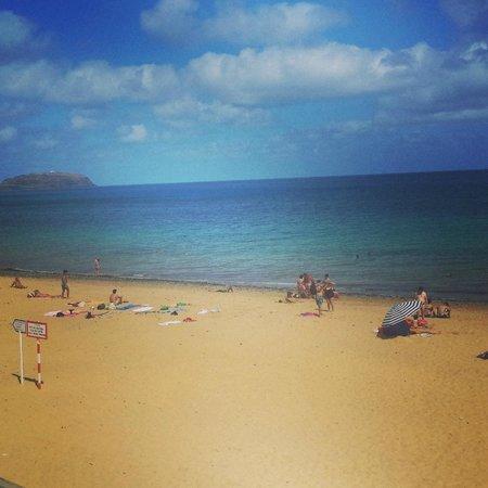 Torre Praia Hotel: view of beach