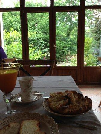 Hotel rural Arpa de Hierba: Desayuno