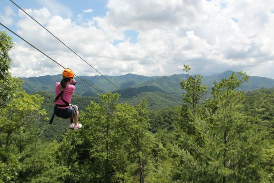 Nantahala Outdoor Center : View from the Mega Zip Tower
