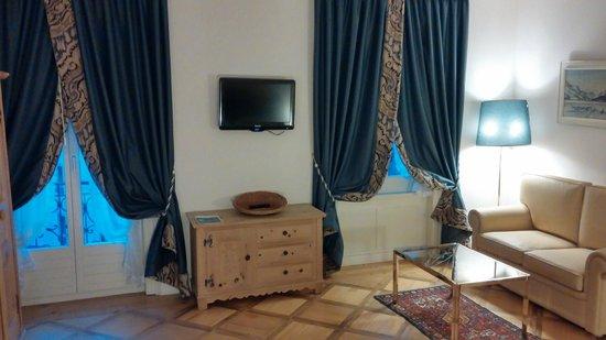Hotel Bernina 1865 : chambre