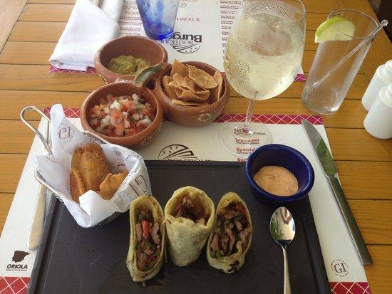 Azul Beach Resort The Fives Playa Del Carmen: Best lunch ever!