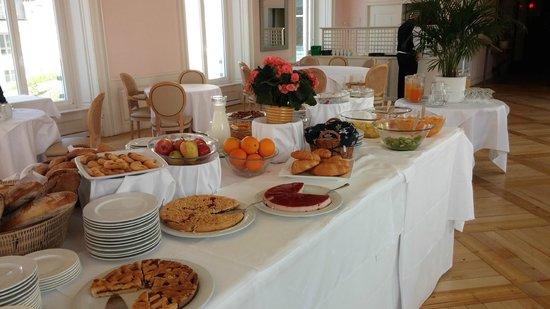 Hotel Bernina 1865 : salle petit dejeuner