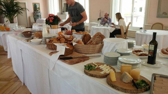 Hotel Bernina 1865 : petit dejeuner