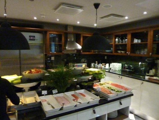 Fabian Hotel: cuisine du petit dej