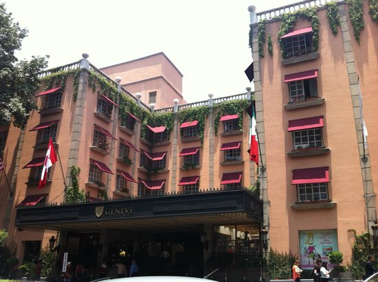Hotel Geneve Ciudad de México: Entrada