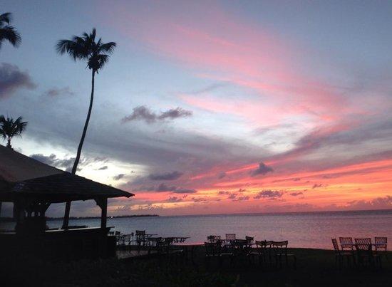 Melia Coco Beach: Beautiful sunset.