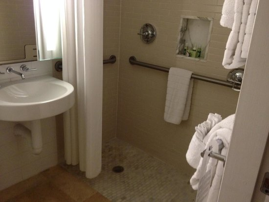 Santa Maria Suites Hotel: double  head shower for two