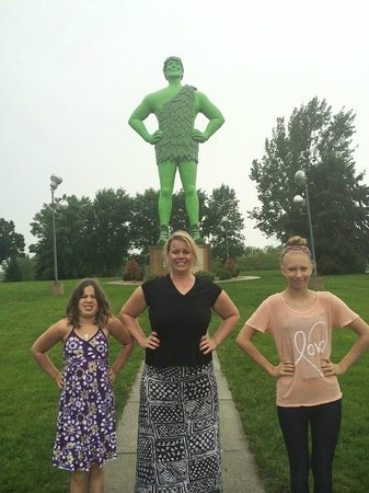 Green Giant Statue Park: The perfect symbol of America's Interstate system