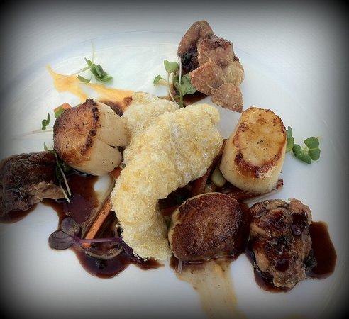 C Restaurant : Scallop Appetizer