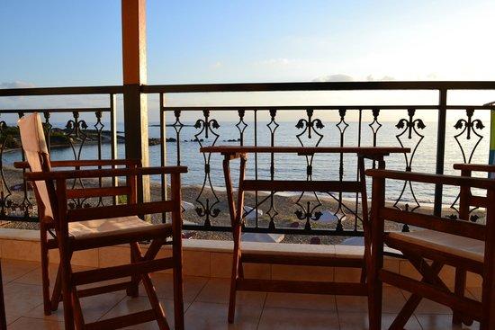 Ammos residence: Vista mare