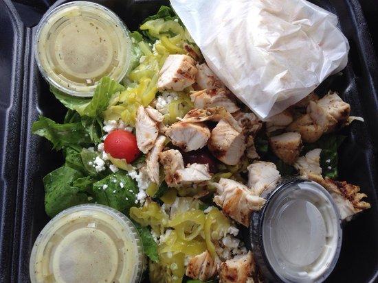 Nupa Mediterranean Cuisine: Super fresh food...always!