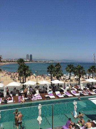 W Barcelona: View from W hotel