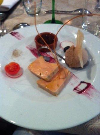 Le Gourmet: foie gras entrée