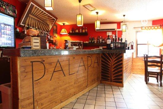 Palapa Restaurant & Bar: -LA BARRA- LA FABRICA DE LOS MOJITOS...
