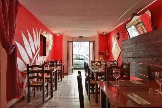 Palapa Restaurant & Bar: -SALA INTERIOR- EL LUGAR DE LOS ANTOJOS...