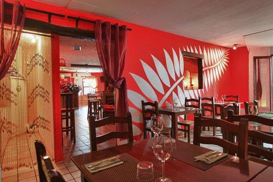 Palapa Restaurant & Bar : -SALA INTERIOR-