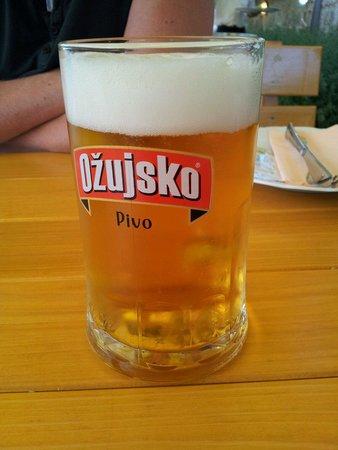 Konoba Mlinice: Meravigliosa birra