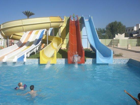 Djerba Sun Club: Zjeżdżalnie